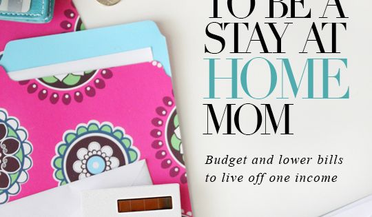 How I save money to be a stay at home mom. Budget