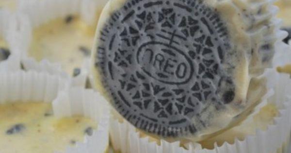 Oreo Cheesecakes oreo