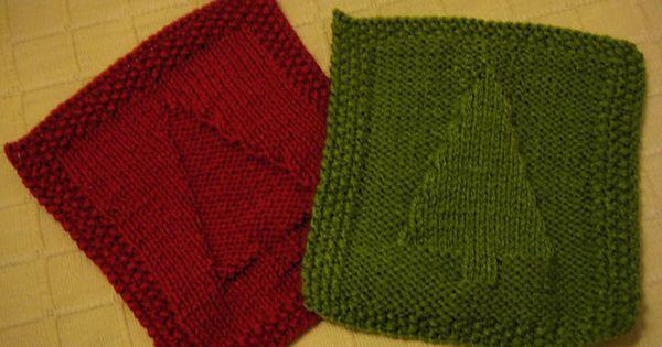 Free Knitting Pattern Tree Dishcloth : Ravelry: Christmas Tree Dishcloth Knitting Pattern Knitting Pinterest C...