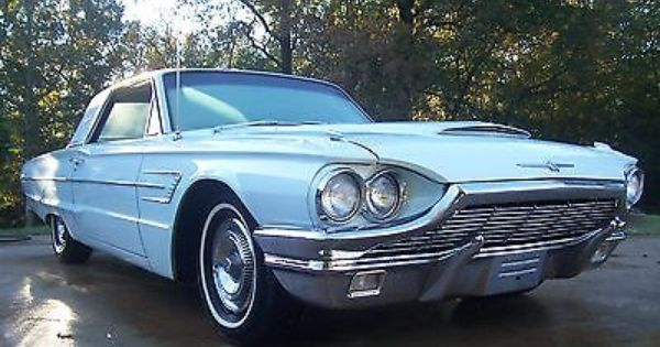 1964 Ford Thunderbird 390 Big Block Unmolsted Orig Paint Interior True Find Here Ford Thunderbird 1964 Ford Hatchback Cars
