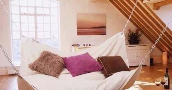 loft heaven interior pinterest anxiety dream homes and hammocks