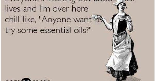 #essential Oils #ecard #funny