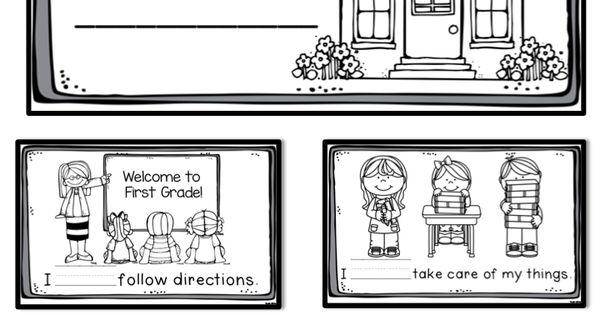 Collaborative Classroom Rules : Classroom rules book freebie kinderland collaborative