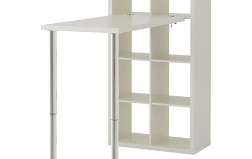 kallax combinaison bureau blanc ikea am nagement coin couture pinterest kallax desk. Black Bedroom Furniture Sets. Home Design Ideas