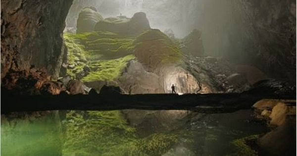 Son Doong Cave, Vietnam Currently, the worlds largest cave! Sơn Đoòng cave