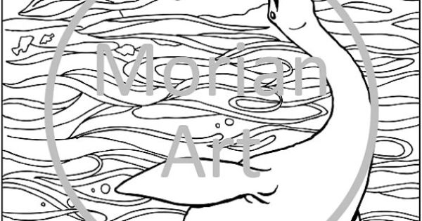 Loch Ness Monster Printable Coloring page   Animales ...
