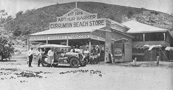 Arthur Barker Owner Of Currumbin Beach Store Queensland