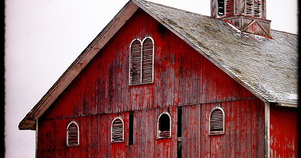 love old barn, (Wood City, Ohio)