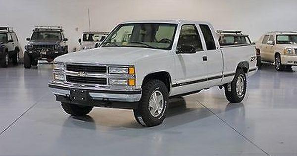 1998 Chevrolet C K Pickup 1500 Silverado Extended Cab Pickup 3 Door Chevy Silverado Pickup Trucks For Sale Extended Cab