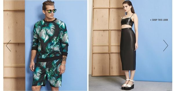 Forever 21 Men Embraces Spring 2015 Trends
