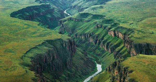 Owyhee River, Owyhee River Wilderness, Idaho. Photo by Michael Melford for National