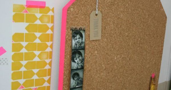 (diy) Pin board - ferm living inspired