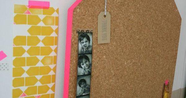 (diy) Pin board - ferm living inspired