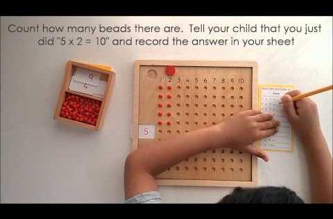 10 mani res d 39 apprendre les tables de multiplication - Comment apprendre ses tables de multiplication ...