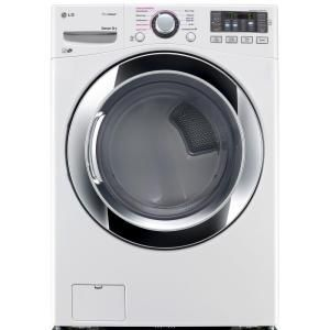 Lg Electronics 7 4 Cu Ft Electric Dryer With Steam In White Energy Star Dlex3370w At The Home Depot Mobile Electric Dryers Gas Dryer Steam Dryer