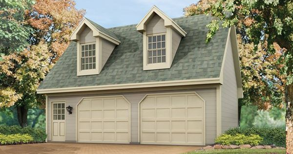 2 5 car garage plans with living space above two car for 2 car garage with apartment above