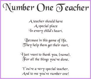 I Miss You Teacher Poems Best Teacher Poems This Is Your