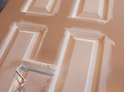 How to paint doors the professional way. Good to know! And perfect