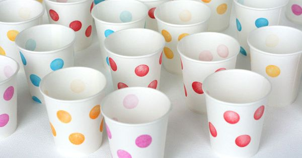 Creative Party Ideas by Cheryl: Make your own Party Cups!