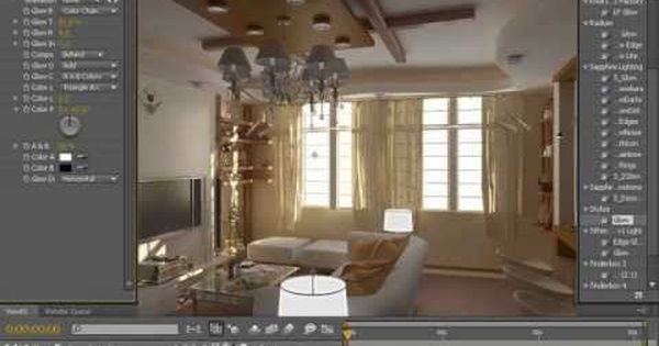 Rendering Interiors Using 3ds Max Vray After Effects With