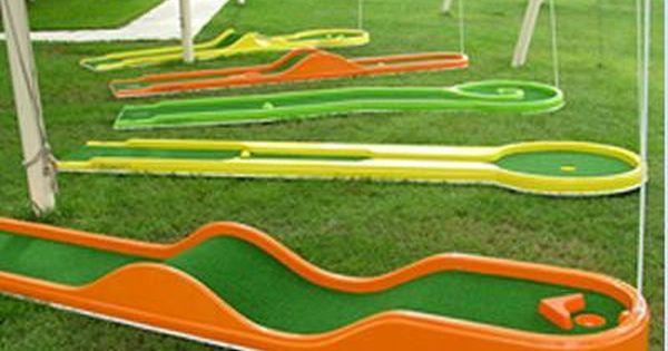 Source Six Course Minigolf Set For Juniors On M Alibaba Com Mini Golf Miniature Golf Golf Courses