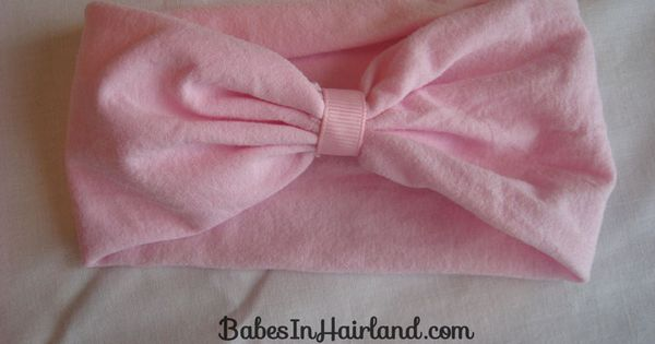 How to Make a Baby Headband. This is stupid-easy...I'm making two today--