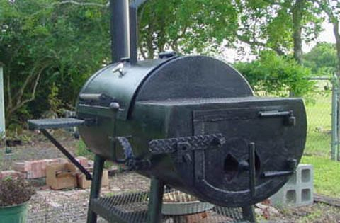 how to get rust out of bbq