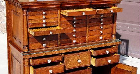 oak dental cabinet cool dentist dentiste pinterest placards vieux londres et antiquit s. Black Bedroom Furniture Sets. Home Design Ideas