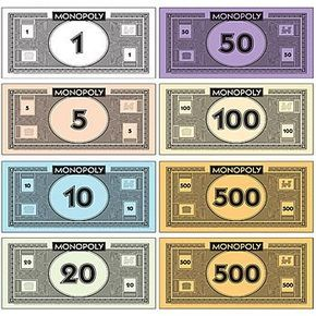 Image result for monopoly dollars