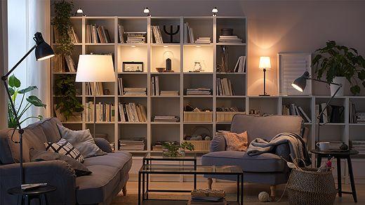 Australia Ikea Living Room Home Living Room Bookcase Lighting