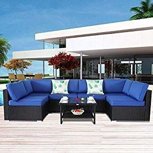 100 Black Wicker Patio Furniture Sets Beachfront Decor