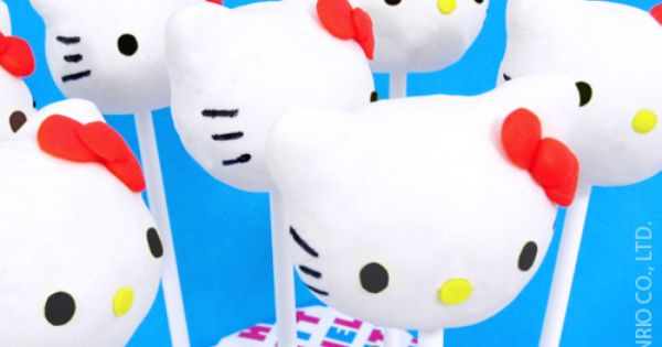 Hello Kitty Cake Pop Kit BrandCastle HelloKitty