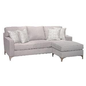Contemporary Gray Sofa Chaise Tessa Chaise Sofa Contemporary