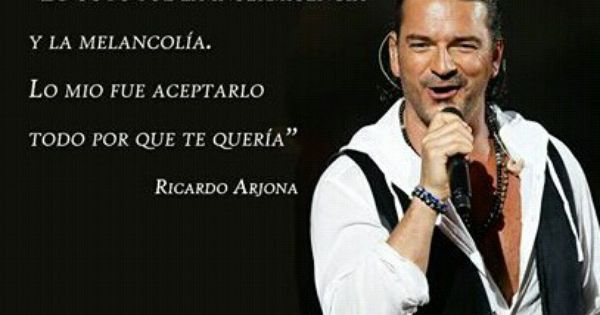 Significado De La Cancion El Amor De Ricardo Arjona Unifeed Club