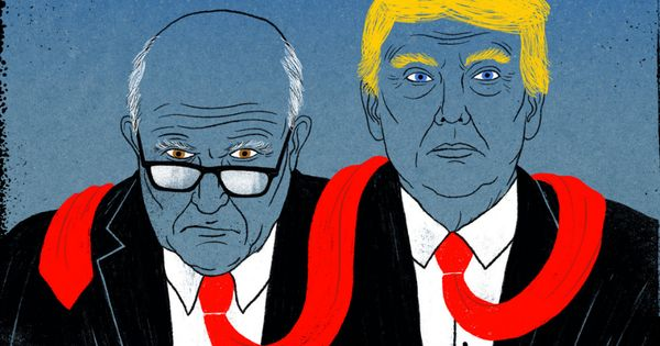 Friends With Benefits Donald And Rudy S Long Strange Partnership