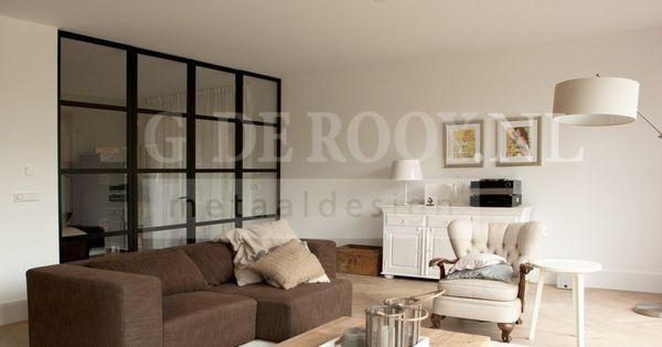 Kamer en suite met stalen deuren in blaricum verbouwings ideeen pinterest stalen deuren - Muur deco volwassen kamer ...