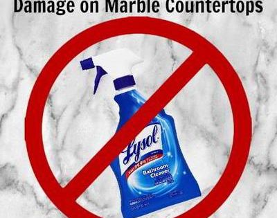 Quot How To Quot Marble Repair Amp Cleaning Method To Fix Lysol