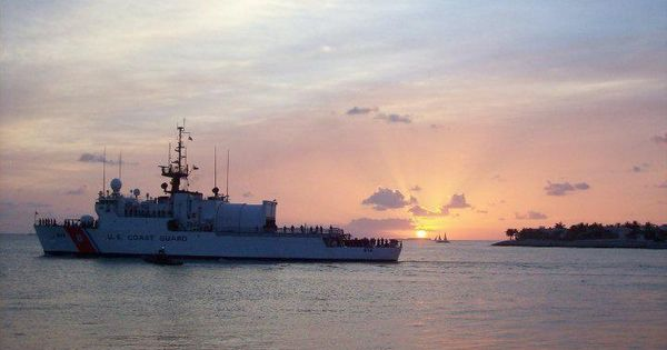 Coast guard cutter mohawk in key west fl thanks to our for Big mohawk fishing boat