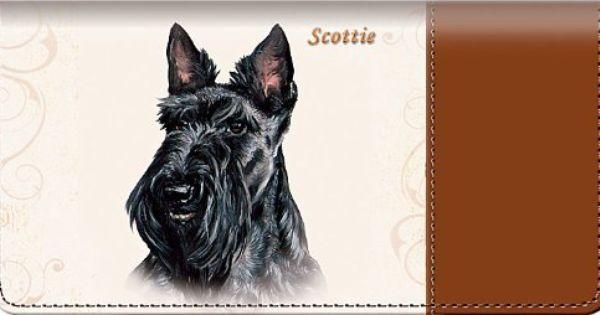 Scottie Checkbook Cover By Bradford Exchange Checkbook Cover