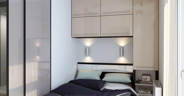 Muebles practicos habitaciones peque as depa pinterest - Muebles habitacion pequena ...