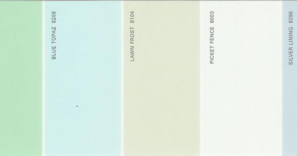 Martha Stewart Paint 5 Color Palette Card 14 Martha