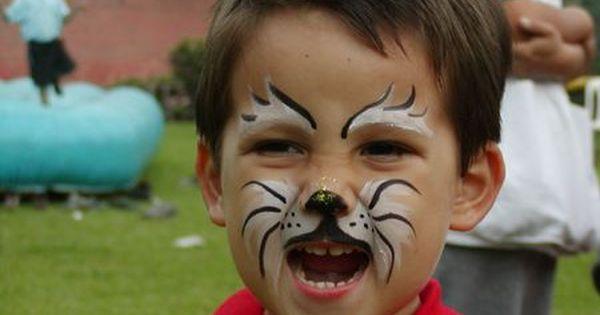 34+ Como pintar la cara de gato ideas