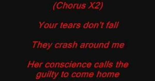 Bullet For My Valentine Tears Dont Fall With Lyrics Bullet For My Valentine My Valentine Lyrics Music Is My Escape