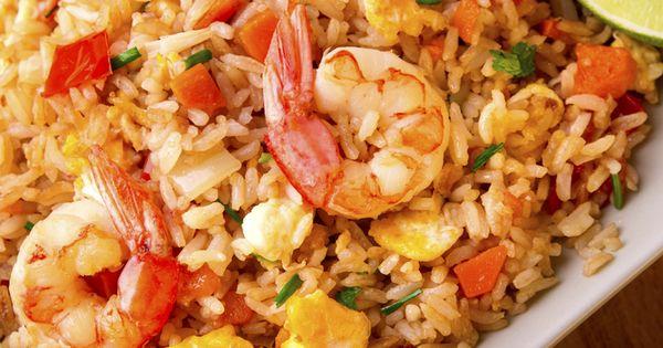 Como hacer arroz frito con gambas estilo tailand s paso a - Como hacer pimientos verdes fritos ...