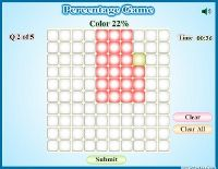 Percentage Games Math Graphic Organizers Common Core Math Fractions Middle School Math