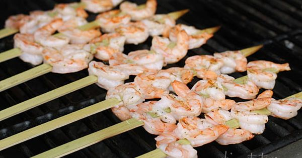 Bangin' Grilled Shrimp Skewers (3 Points+) | Weight Watchers Recipes