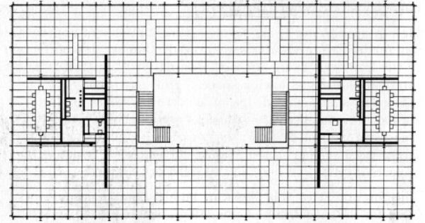 Archive Of Affinities Mies Van Der Rohe Ludwig Mies Van Der Rohe Office Building Plans