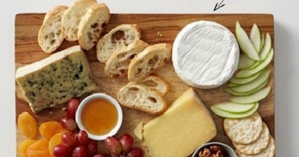 Ideal cheese plate food party