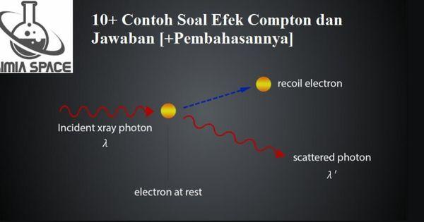10 Contoh Soal Efek Compton Dan Jawaban Pembahasannya Teori Relativitas Fisika Teori