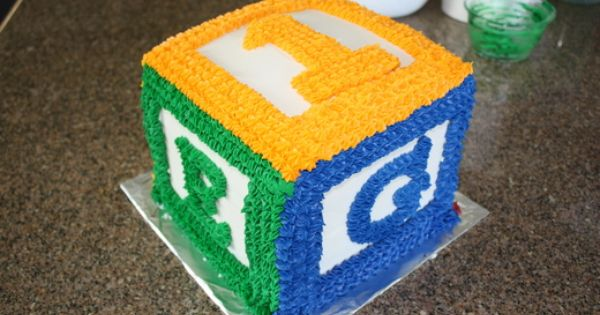 Abc Birthday Cake Ideas